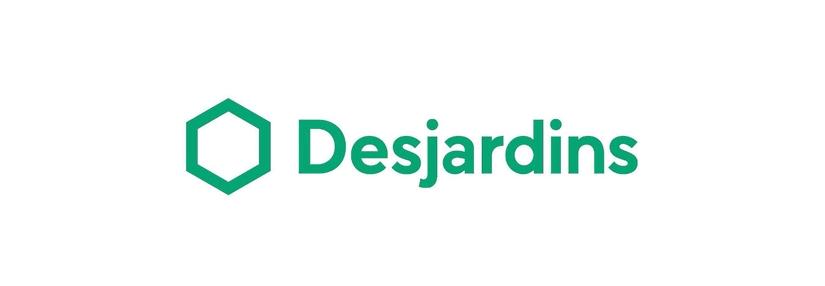 Nouveau logo pourDesjardins